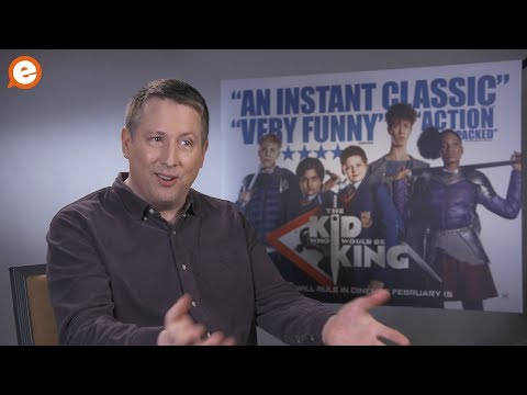 Joe Cornish Talks New Movie 'The Kid Who Would Be King' And Working With Edgar Wright