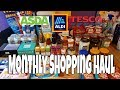 Slimming World Monthly Food Shop/ Family Shop | June 2019