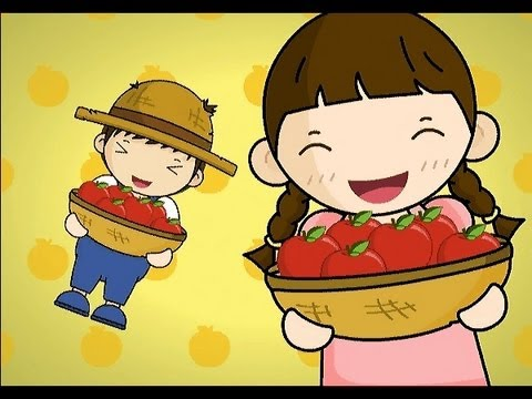 Picking Apples | Family Sing Along - Muffin Songs