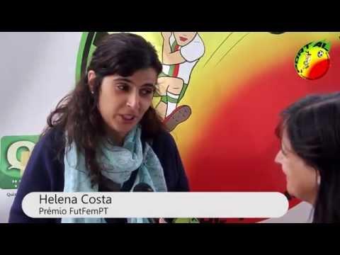 Entrevista a Helena Costa, vencedora do Prémio FutFemPT