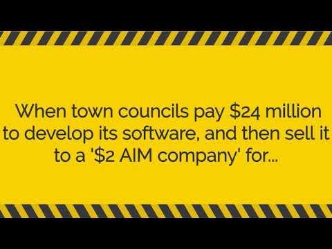 Town councils' software '$2 AIM Co' - Fiduciary duty?