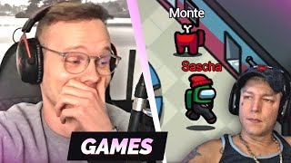 Erster Kill direkt an Monte 😂 5000IQ Imposter Runde 😱 | Among Us mit Monte, Pascal, Mehdi...