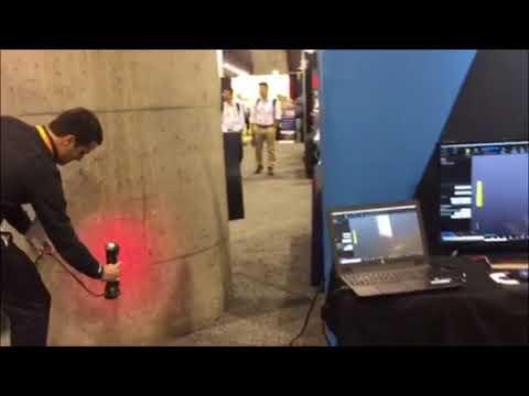 Creaform NDT 3D Laser Scanning at NACE Corrosion 2018