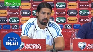 'They did surprise us' Sami Khedira after 7 - 0 win - Daily Mail