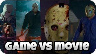MOVIE VS GAME (Music Edition) | Friday The 13th: The Game