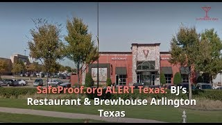 BJ's Restaurant and Brewhouse Arlington Texas received a written warning