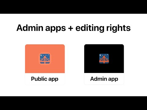 Admin Apps & Editing Rights | Glide Apps Tutorial