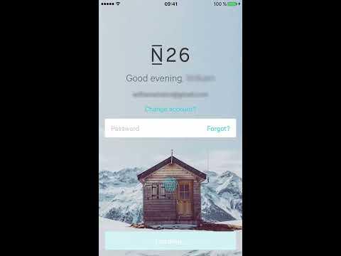 N26 Mobile Banking App Demonstration
