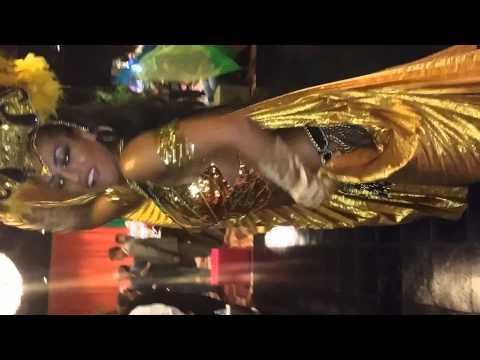 Claudia Leon Dancing Samba at the coconut creek casino