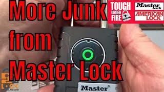 (897) Review: Master Lock Bluetooth Smart Padlock (JUNK!)