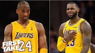Stephen A. scoffs at notion LeBron-Kobe could