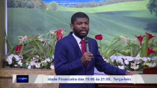 Pr. Esmael P. Sebastiao Tema Saiba quem voce é (2016)