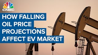 What falling oil price projections mean for the EV market