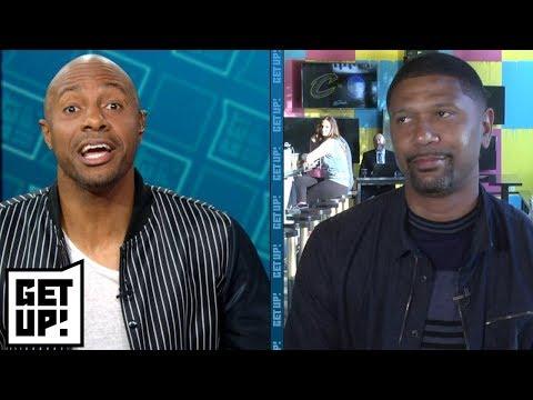 Jalen Rose, Jay Williams debate LeBron James vs. Steph Curry for NBA Finals MVP | Get Up! | ESPN
