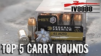 Top 5 Carry Rounds