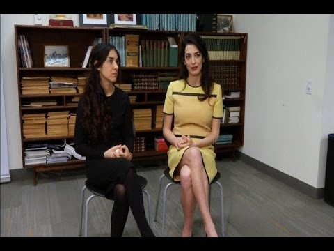 Amal Clooney: Allow UN probe in Iraq and Syria
