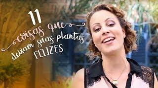 11 materiais para colocar no vaso que deixam as plantas felizes