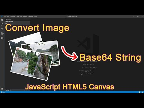 JavaScript – Convert Image To Base64 String Using HTML5 Canvas Approach
