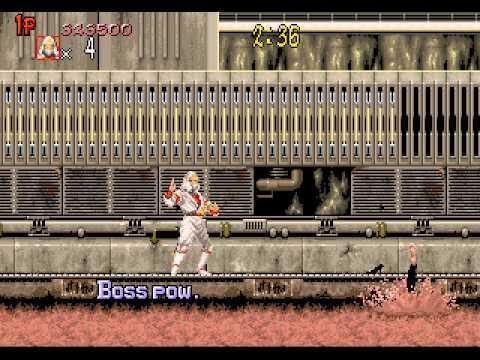 Shadow Dancer Longplay (Arcade) [60 FPS]