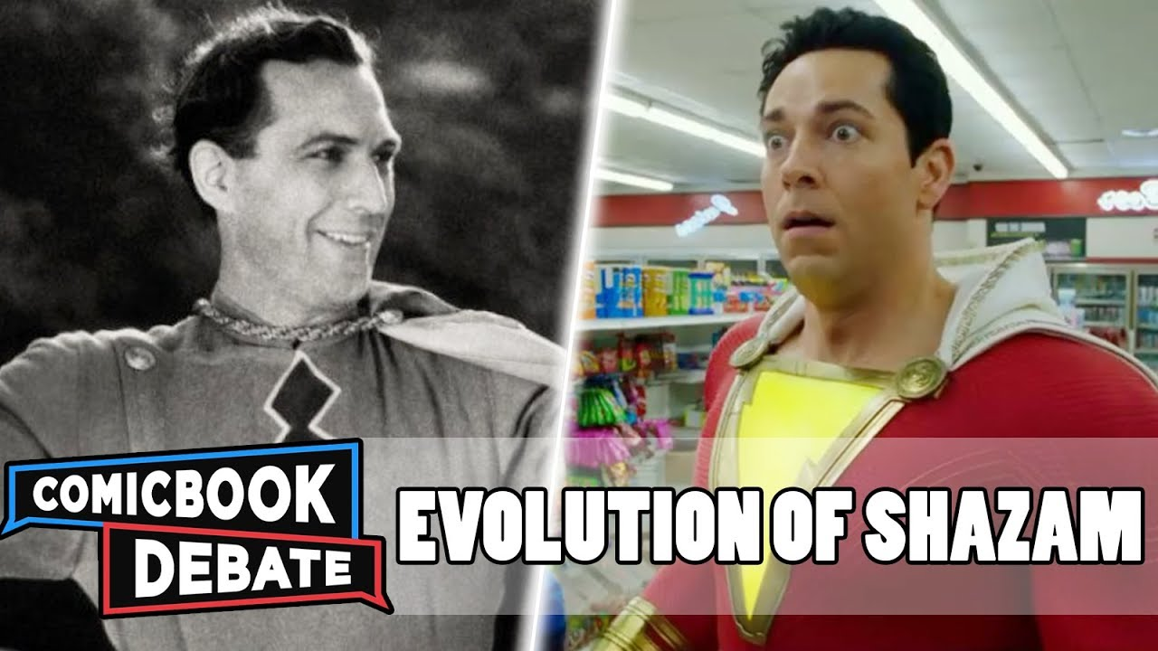 Evolution of Shazam! in Movies & TV in 5 Minutes (2018)