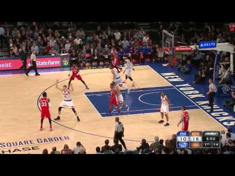 Robert Covington vs New York Knicks 02.12.2015 (10Pts)