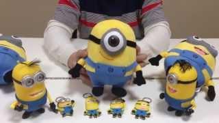 Видео обзор: игрушка миньон. Купить миньона, Москва