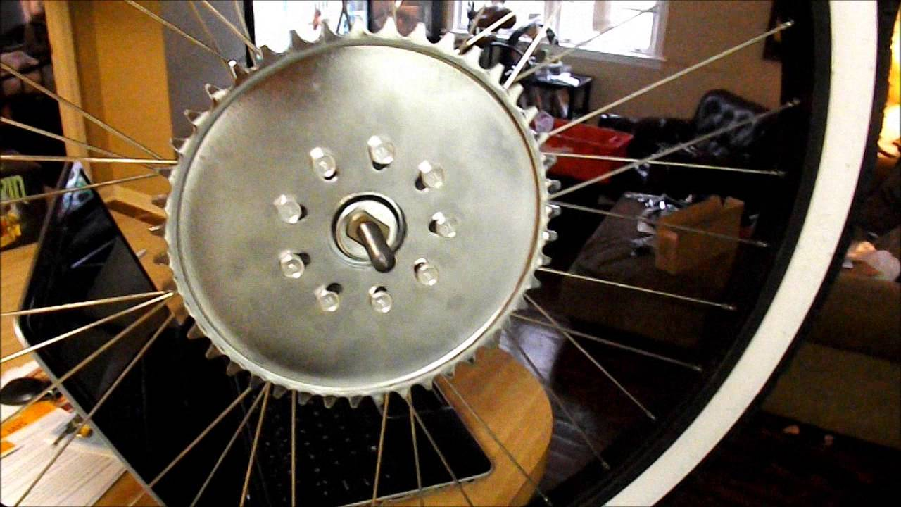 How To Install A Motorized Bicycle Sprocket