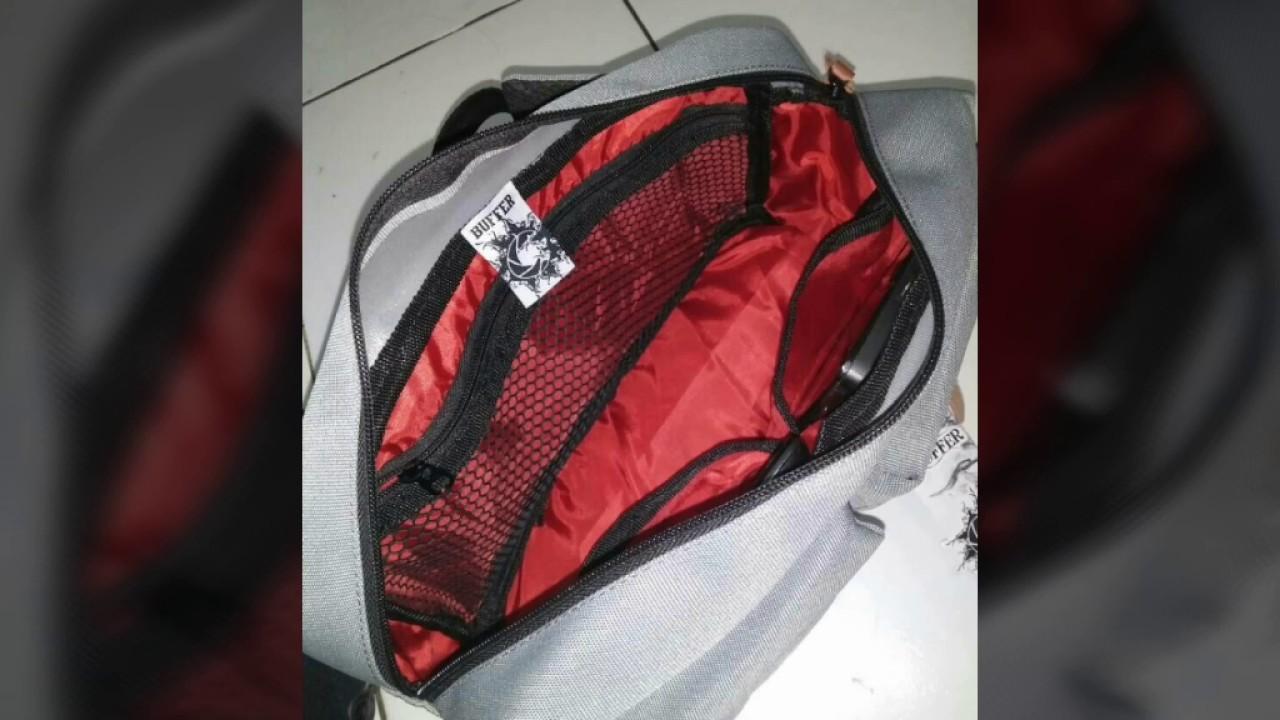 Tas waistbag original buffer - YouTube 607d7a9625