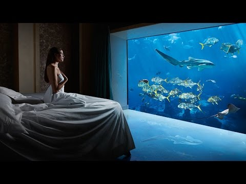 MY $10,000 UNDERWATER SUITE TOUR!