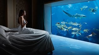 MY $10,000 UNDERWATER SUITE TOUR!(Underwater Suite at The Atlantis, The Palm Dubai! $10000 a Night Room Tour!!!!! # TheSuiteLife #MTVDaily • Previous Video: ..., 2016-03-16T15:46:37.000Z)