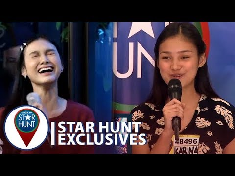 Karina nahiyang panoorin ang kanyang audition   Star Hunt Exclusives