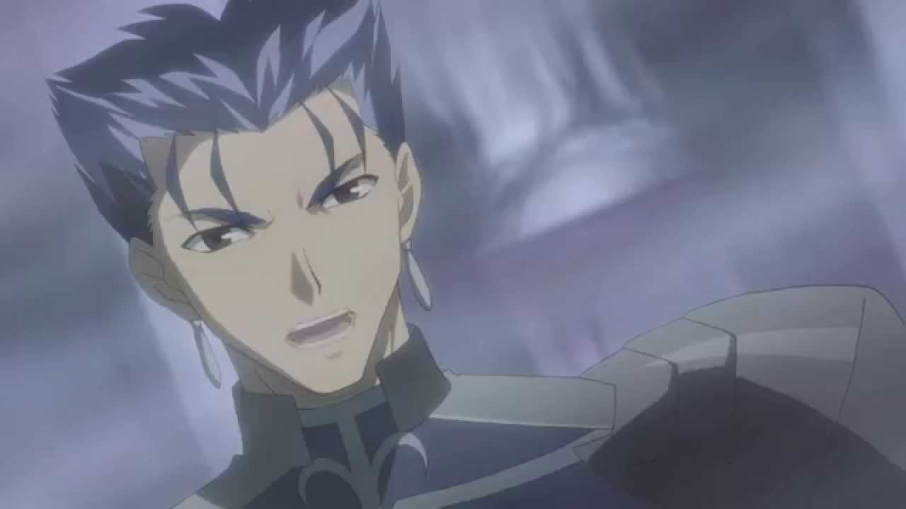 Hd Fate Stay Night Ubw 2010 Archer Vs Lancer Youtube