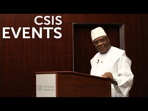 Statesmen's Forum: His Excellency Ibrahim Boubacar Keita, President of the Republic of Mali