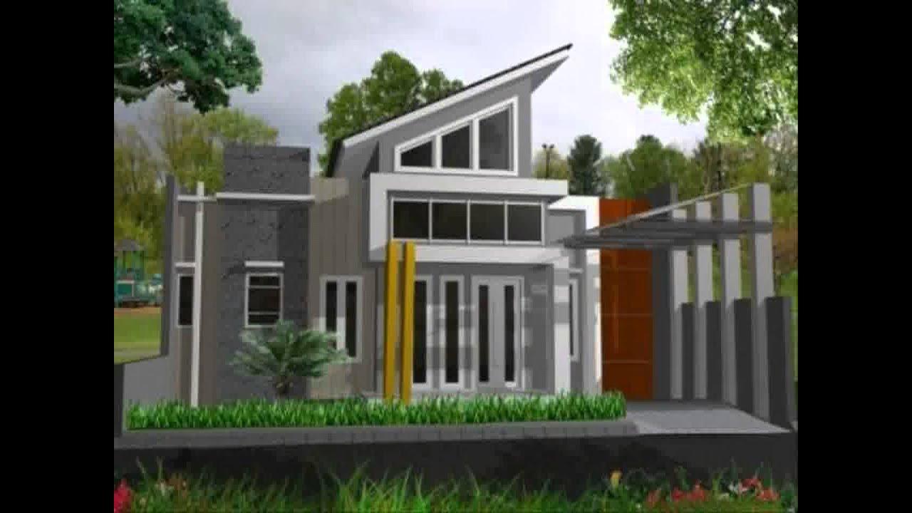 Desain Rumah Minimalis 2 Lantai Ukuran 8x12 Yg Sedang Trend Saat Ini