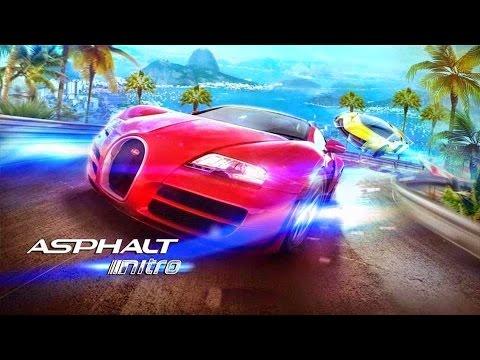 Asphalt: Nitro - Отличная гонка от компании Gameloft на Android