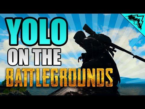 "AWM COMMANDER ""YOLO on the Battlegrounds"" #3 -Player Unknowns Battlegrounds StoneMountain64 Gameplay"