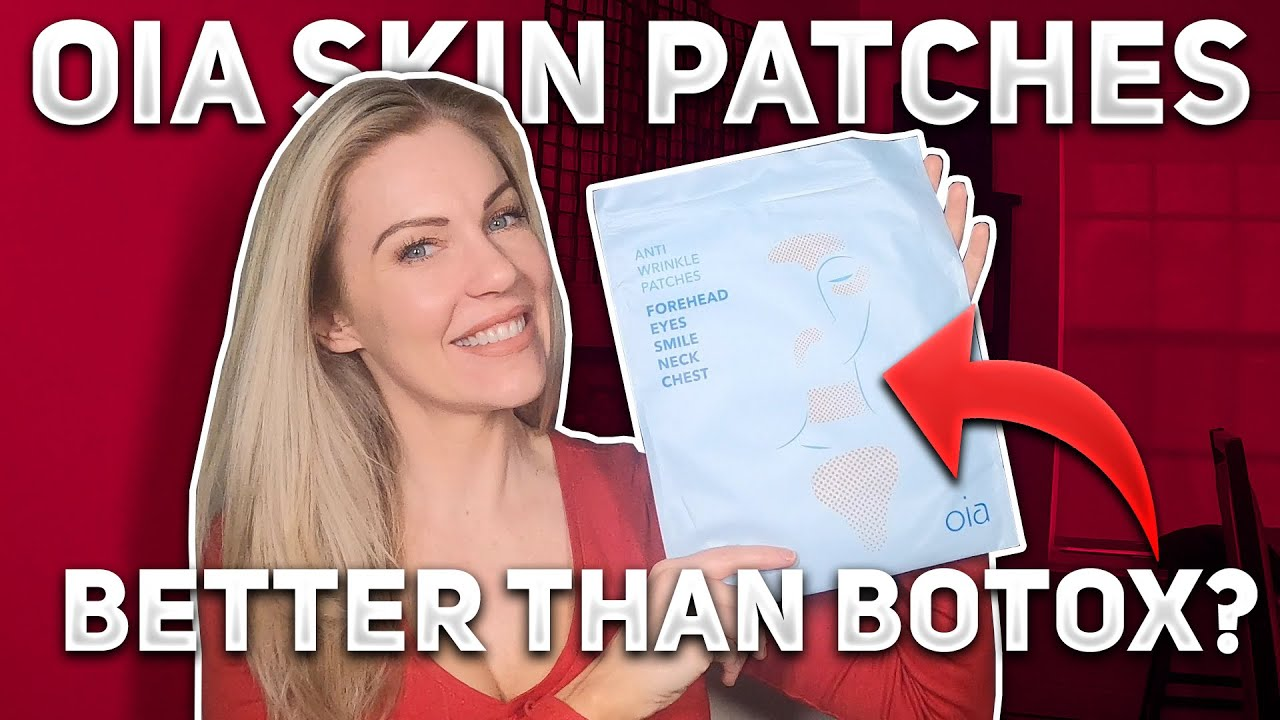 Oia Skin Patches First Impressions - Are They Better Than Botox?