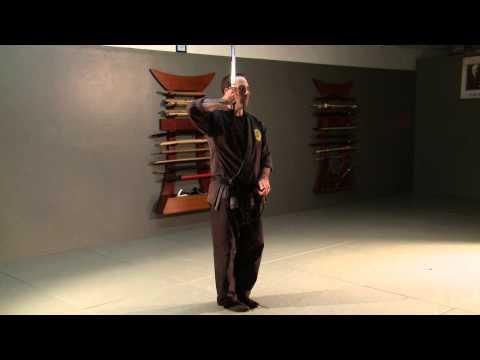 Katana no Kata 'Shohatto' Samurai Sword Form for Bujinkan Ninjutsu Ninja Training