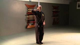 """Katana no Kata """"Shohatto"""" Samurai Sword Form for Bujinkan Ninjutsu Ninja Training"""