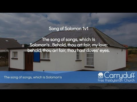 The song of songs, which is Solomon's