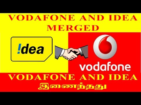 Vodafone and Idea Merged about in Tamil