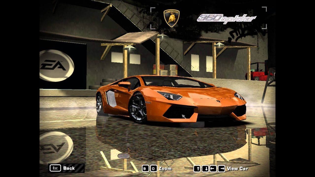 need for speed most wanted mod lamborghini aventador lp700 4 youtube. Black Bedroom Furniture Sets. Home Design Ideas