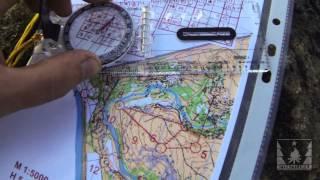 Работа с магнитным компасом