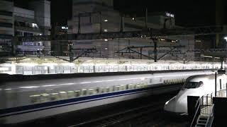 ありがとう700系 臨時のぞみ412号 浜松駅上り