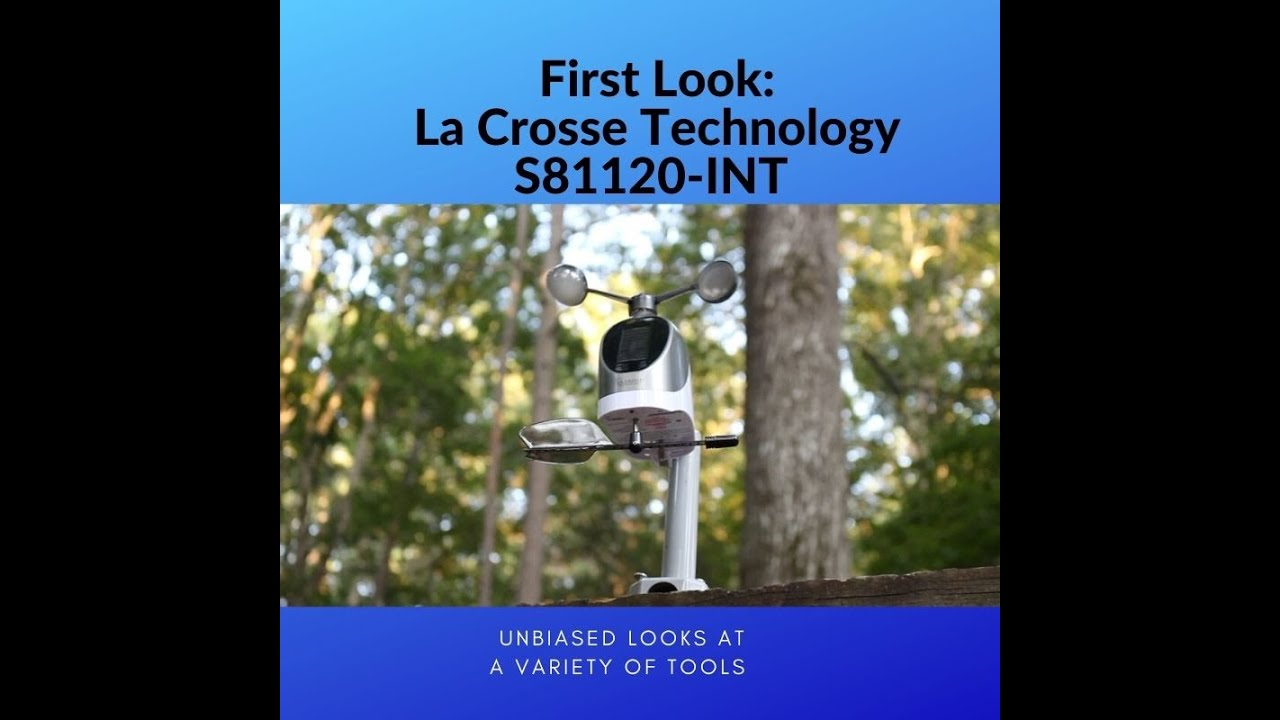 Download First Look: La Crosse Technology S81120-INT Wireless Combo Weather Station.