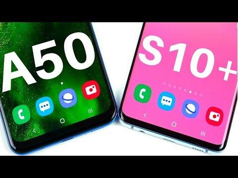 Samsung A50 vs Samsung S10 Plus Speed Test