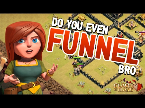 CLASH OF CLANS - FUNNELING 101 | GoLaLoon Styles & GoHo