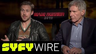 Ryan Gosling, Harrison Ford, Blade Runner 2049 Cast on Portraying Their Characters | SYFY WIRE