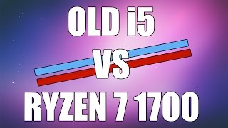 Can an Old Overclocked i5 Keep Up With Stock Ryzen 1700 in Games?