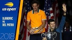 Novak Djokovic vs Juan Martin del Potro Full Match | US Open 2018 Final